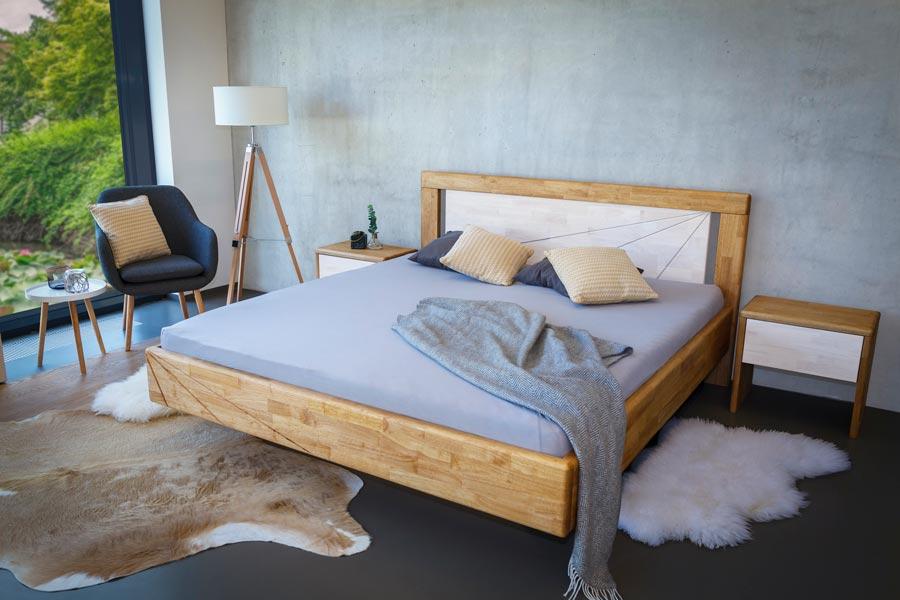 Pro kvalitu vašeho spánku je důležitý i rozměr masivní postele z dubu.