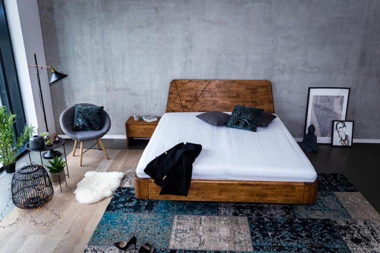 Masivní postel NOE